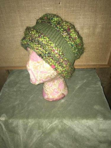 Hand Spun Wool Silk Hat